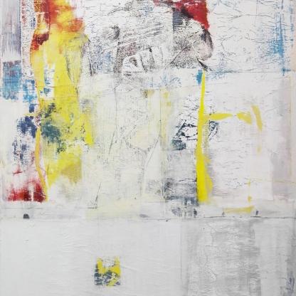 UNTITLED 10,acrylic on canvas,80x100 cm,2017