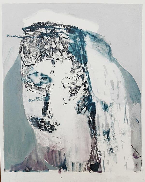 Massimo Quadrelli painting portrait