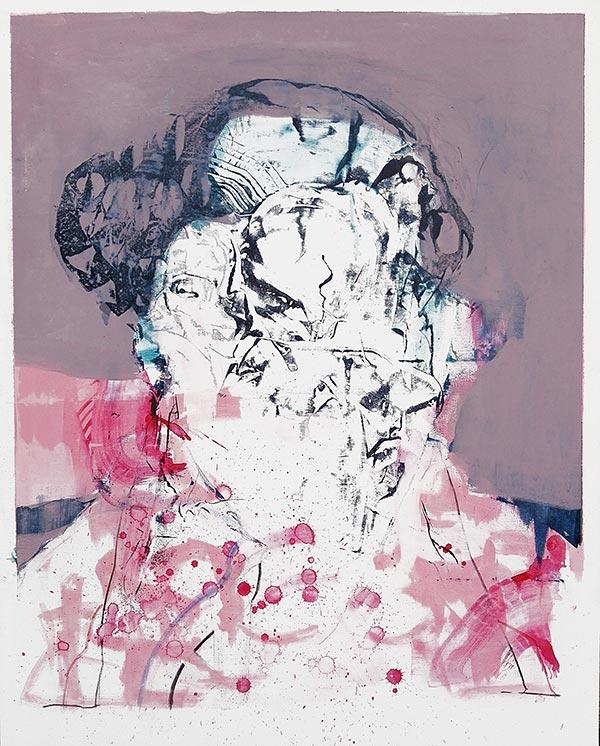 Massimo Quadrelli portrait painting
